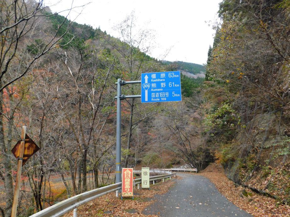 国道309号の標識