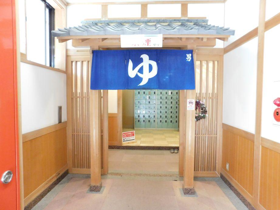 龍神温泉 元湯 浴室入口