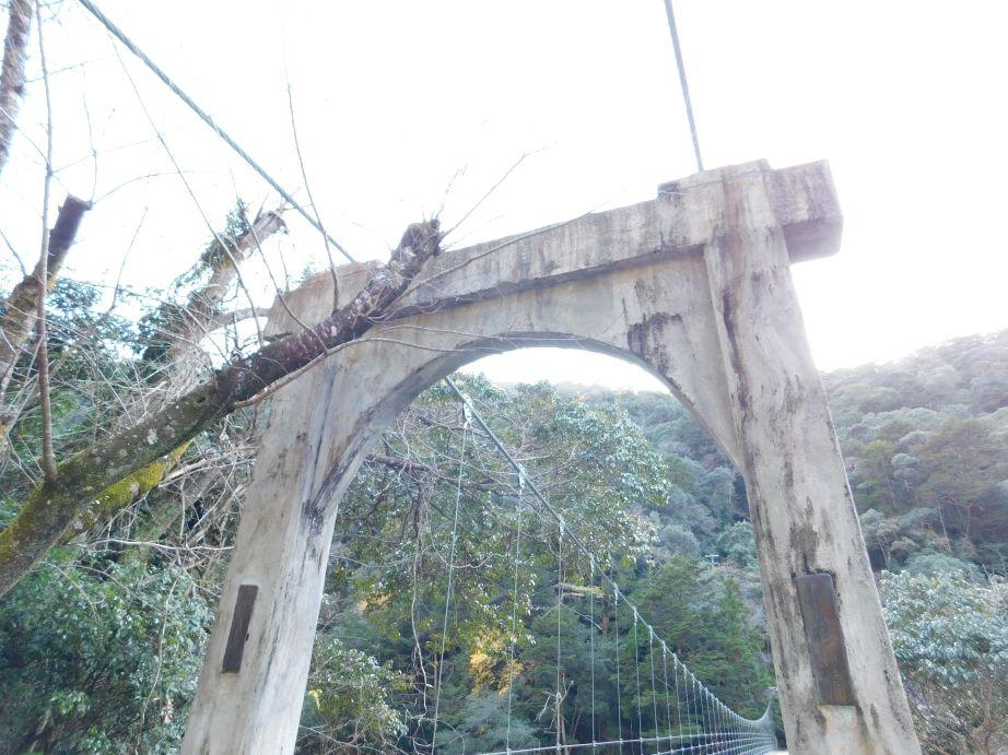 山彦橋の主塔