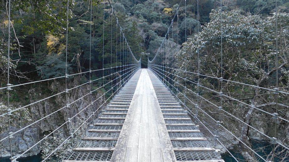 山彦橋を奈良県側から見たところ