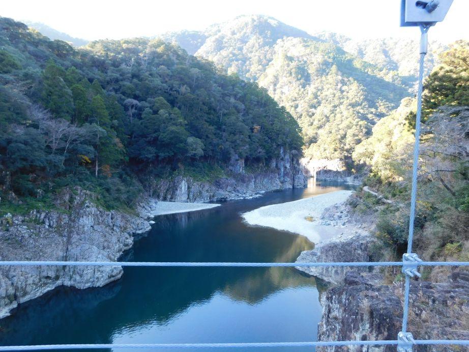 山彦橋からの風景