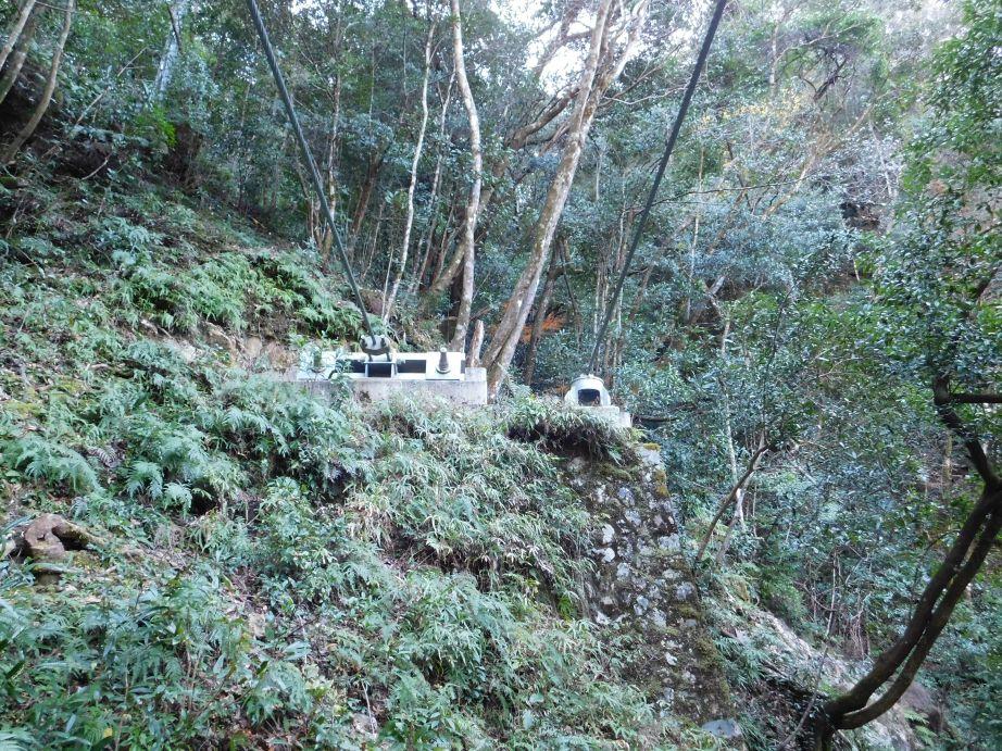 山彦橋 三重県側のアンカー