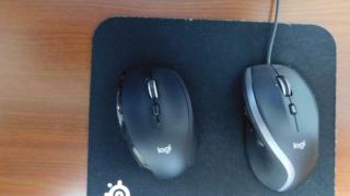 ロジクールのマウスM500s, M705m